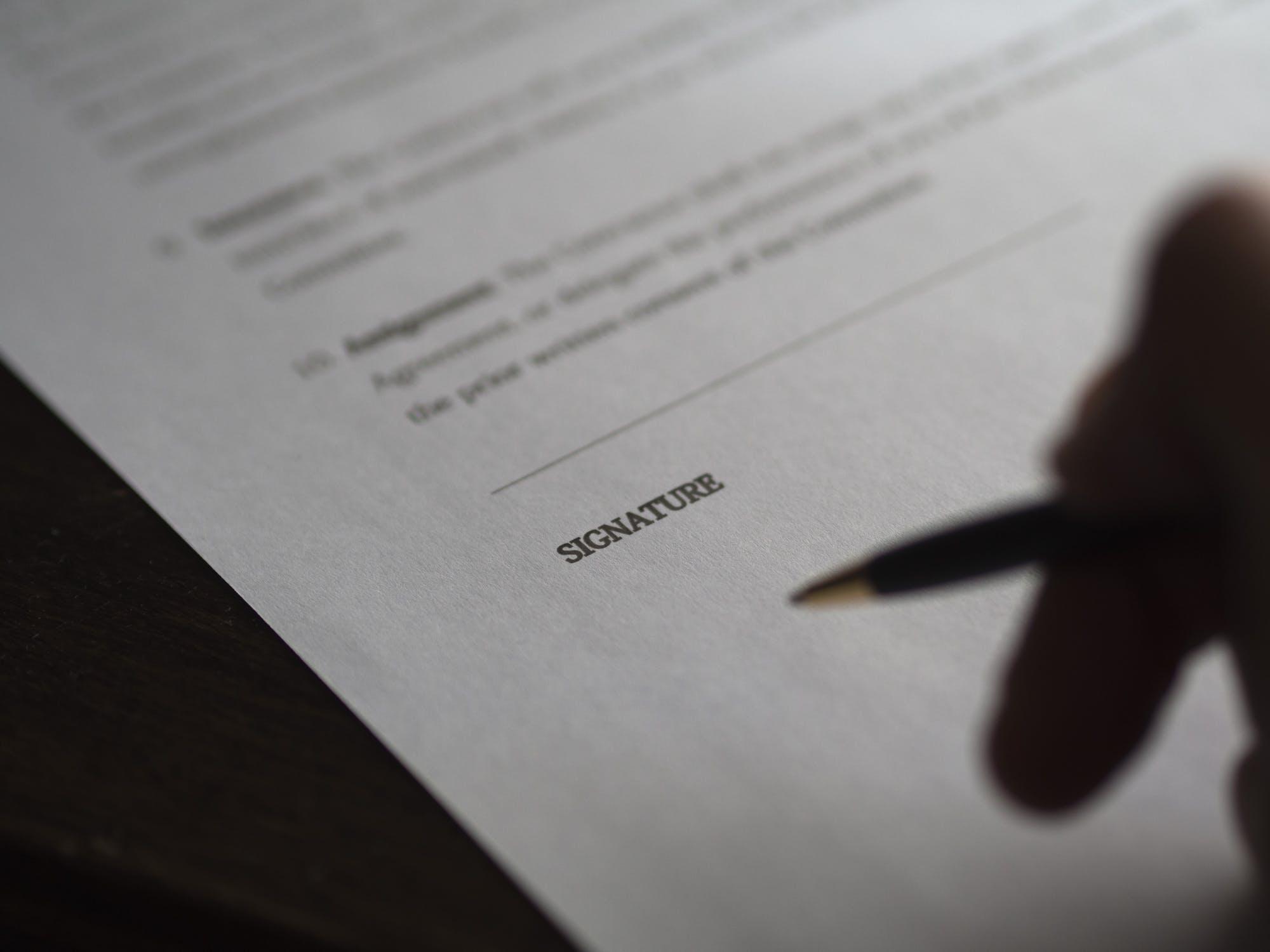 contrat de cession et d'édition musicale