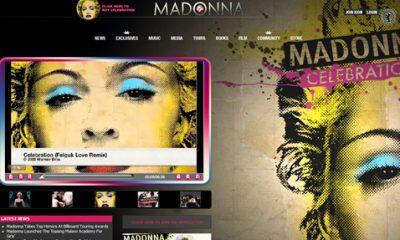 site de madonna