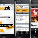beezik iphone 150x150 Tous les Charts du monde grâce à l'application Top 100 Music