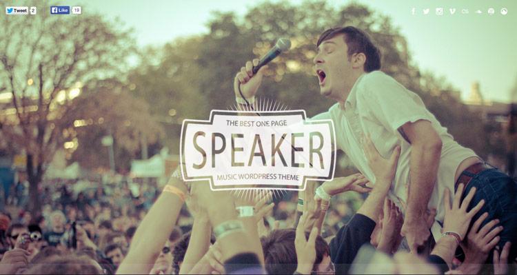speaker-theme-wordpress