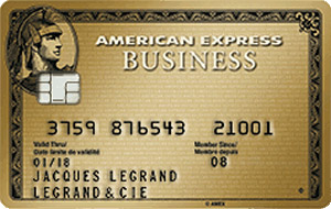Carte American Express Business Gold